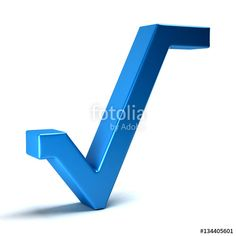 Download The Royalty Free Photo Square Root Math Symbol 3d Rendering Illustration
