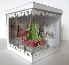Acetate exploding box idea. Beautiful!