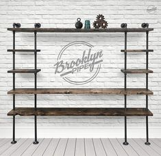 Brooklyn Pipe is your one stop shop for all your DIY Pipe Project needs. Whether you're building pipe shelving, pipe tables or just getting into pipe decor, Brooklyn Pipe can help you get your project done. Types Of Flooring Materials, Barbershop Design, Pipe Decor, Diy Pipe, Floor Trim, Furniture Projects, Diy Furniture, Diy Projects, Diy Garden Decor