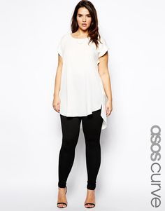 ASOS Curve | ASOS CURVE Legging In Texture at ASOS