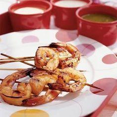Honey-glazed Shrimp Recipe | MyRecipes.com