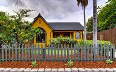 Country Cottage | 1927 yellow country English cottage in California | ~ House Crazy ~