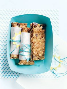 Muesli Bars. I've made these before and they are divine, so much better than anything you can buy in the stores.
