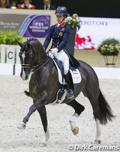 Charlotte Dujardin and Valegro. @eurodressage.com