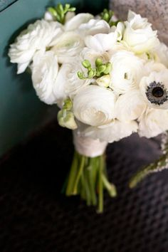 My ranunculus and anenome bouquet by Kat Flower