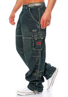 Mens Cargo Jeans, Baggy Cargo Pants, Tactical Wear, Tactical Clothing, Hip Hop Fashion, Mens Fashion, Ropa Hip Hop, Herren Style, Pantalon Cargo