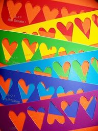 Color My World ~ Paper Hearts