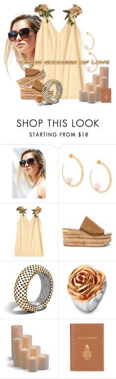 """""""Venus"""" by kloeyblue ❤ liked on Polyvore featuring Urban Outfitters, KHIRY, Chloé, John Hardy, West Coast Jewelry, Frontgate and Barrie"""
