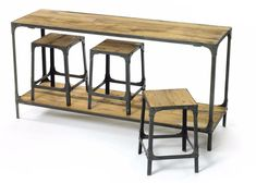 Console And Stool Package by Go Home Ltd.