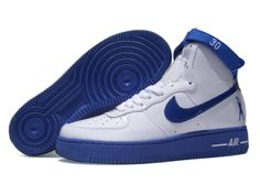 Chaussures Nike Air Force One Bleu/Blanc [nike_10574] - €62.94 : Nike Chaussure Pas Cher,Nike Blazer and Timerland https://www.facebook.com/pages/Chaussures-nike-originaux/376807589058057