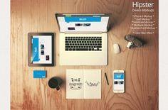 Hero Header Mockup by shrdesign on @creativemarket