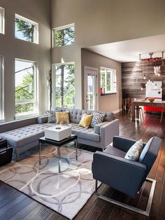 This warm, inviting shade of gray featured on Pantone's fall color report is reminiscent of weathered barn wood. Pair it with reds, yellows and shades of gray for a fall-perfect combination. Design by Jordan Iverson