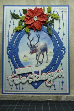Marianne Design, Cardmaking, Christmas Cards, Frame, Handmade, Decor, Noel, Christmas E Cards, Picture Frame
