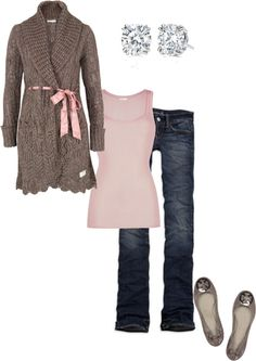 """Fall in Pink"" by littlemomentofpeace on Polyvore"