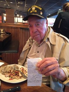 World War II Veteran Gets Unexpected Respect from Outback Steakhouse - Freedom Outpost