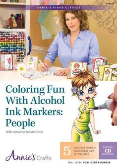 Want to learn how to color people figures with Copic markers? Check out this video coloring class that teaches how to use alcohol ink markers to color light and dark skin tones with perfect blending a