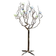 Surreal Tree Candelabra | From a unique collection of antique and modern candleholders and candelabra at http://www.1stdibs.com/furniture/lighting/candleholders-candelabra/
