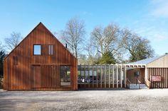 Burd Haward Architects, Jack Hobhouse · Mottisfont Visitor Centre