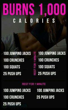 Burn 1000 Calories Workout!