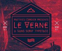 LE VERNE on Typography Served
