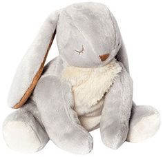 """Woodland Friends Bunny 8"""" by North American Bear - 6632  Gender neutral 8"""" Woodland Friends Bunny is a comforting first companion for any baby and is perfect for hugging. In luxuriously soft plush and velour with embroidered eyes, Woodland Friends are machine washable and baby safe."""