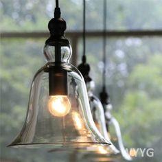 Vintage-Industrial-Loft-Ceiling-Lamp-Bell-Glass-Pendant-Light-Edison-Bulb-Retro