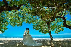 昼間のビーチ ギャラリー フォトウェディング バリ島撮影会社 BLESS(ブレス)