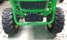Best Mod/add on to compact tractor or attachment - grooved tires John Deere Attachments, Compact Tractor Attachments, Sub Compact Tractors, John Deere 318, Tractor Accessories, Tractor Loader, Tractor Implements, Best Mods, Farm Boys