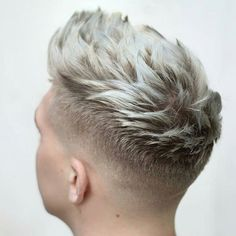 Low Fade + Textured Quiff