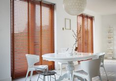 Luxaflex® Venetian blinds are an exciting mix of innovative and decorative options with exclusive colours and finishes. View this design classic online. Home Safes, Window Styles, Wood Accents, Shape Design, Venetian, Window Treatments, Ramen, Blinds, Indoor