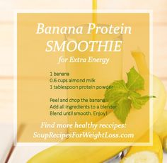 Best Weight Loss Smoothie Recipes | http://souprecipesforweightloss.com/best-weight-loss-smoothie-recipes/ #totalbodytransformation