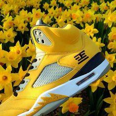 3e716ecf2d37 Black n Yellow! Jordan 5Jordan ShoesCheap JordansAir ...
