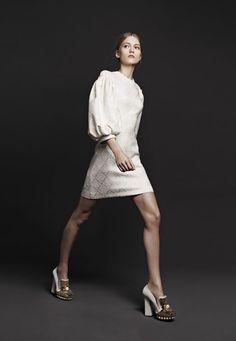 Alexander McQueen F/W 2013 RTW; gorgeous dress w/ nice sleeves