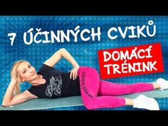 DOMÁCÍ TRÉNINK ZÁDA/BŘICHO - YouTube Health Diet, Health Fitness, Tabata, Ted, Sporty, Youtube, Exercise, Workout, Exercises