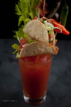 Recover properly!! PrintBloody Mary Prep Time: 10 minutes Yield: 1 Ingredients1 1/2 ounce Stoli Vodka 5 ounces Mr & Mrs T Bloody Mary Mix 1 splash Lea & Perrins worcestershire sauce Squeeze of fresh lime juice Serve over Ice Garnishes wood skewers Demitris bacon rimshot rim salt 1 stalk celery 1 slice crispy bacon 1 …