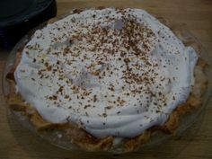Chocolate Pie ~ What's Cookin' in the Parsonage? | RefreshHer