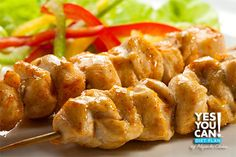 Chicken Skewers - A healthy option for your Yes You Can! Diet Plan snack