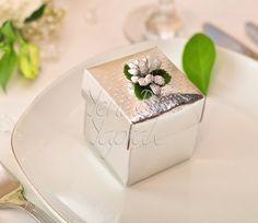 Gümüş Rengi Kutu #nikah #şekeri