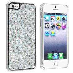 @Overstock - This is a BasAcc silver pink bling rear snap-on case for Apple® iPhone 5. Protect your cell phone against bumps and scratches with this accessory set.http://www.overstock.com/Electronics/BasAcc-Silver-Bling-Snap-on-Case-for-Apple-iPhone-5/7467728/product.html?CID=214117 $4.44