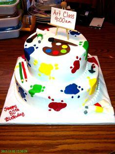 Paint/Painter Cake