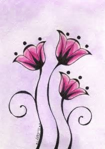 Image result for Easy Sketches Of Flowers