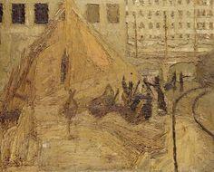 Frank Auerbach, building site  https://s-media-cache-ak0.pinimg.com/736x/c3/ef/a2/c3efa2439a087d083f1a1a2f5e171a15.jpg