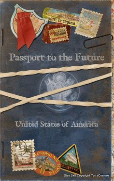 DIY Passport Graduation Announcement Invitation by TerraCosmos, $0.99
