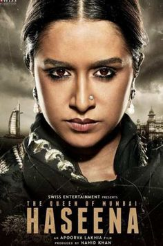 Haseena First Look and Poster by Shraddha Kapoor Upcoming Movie. Shraddha Kapoor New Hindi Movie Haseena First Look Poster, Images, Wallpapers Free Download From Here.