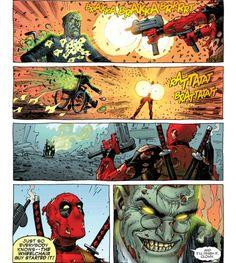 The wheelchair guy started it!  XDD #deadpool #president #zombie #guns #presidentzombie #gunshot #gunfire #marvel #comics