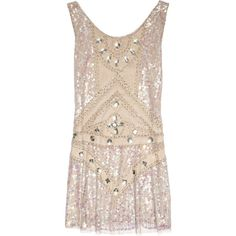 Anna Sui Embellished tulle mini dress ($640) ❤ liked on Polyvore featuring dresses, tops, vestidos, anna sui, women, beaded dress, beaded cocktail dress, pink cocktail dress, sequin mini dress and short sequin cocktail dresses