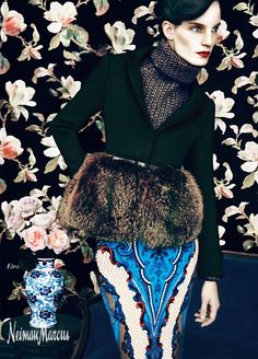 The Art of Fashion by Erik Madigan Heck for Neiman Marcus Fall Winter 2012 Campaign