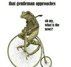 How long did it take dat boi to get here? Way more than a month, I know.