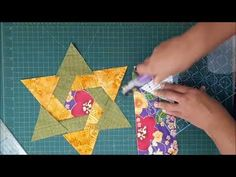 New Patchwork Quilt Squares Triangles Ideas Star Quilt Patterns, Modern Quilt Patterns, Star Quilts, Quilting For Beginners, Quilting Tutorials, Quilting Projects, Patch Quilt, Quilt Blocks, Crazy Patchwork