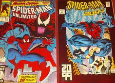 Spider-Man Unlimited #1 (1993) Marvel Comics Maximum Carnage Spider-man 2099 #1